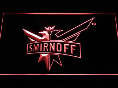 Smirnoff LED Neon Sign - Red - SafeSpecial