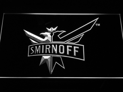 Smirnoff LED Neon Sign - White - SafeSpecial