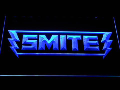 Image of Smite LED Neon Sign - Blue - SafeSpecial
