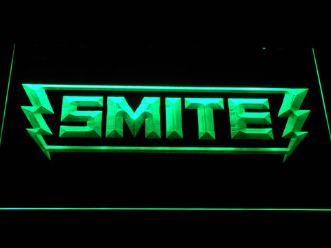 Image of Smite LED Neon Sign - Green - SafeSpecial