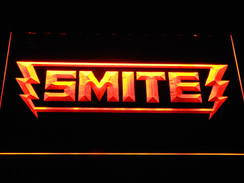 Image of Smite LED Neon Sign - Orange - SafeSpecial