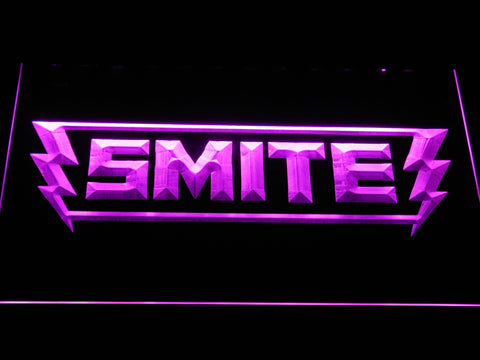 Image of Smite LED Neon Sign - Purple - SafeSpecial