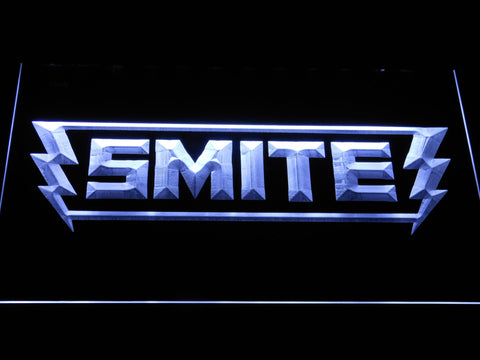 Image of Smite LED Neon Sign - White - SafeSpecial