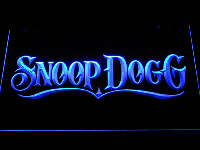 Snoop Dogg LED Neon Sign - Blue - SafeSpecial