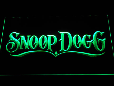 Snoop Dogg LED Neon Sign - Green - SafeSpecial