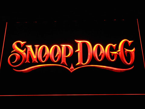 Snoop Dogg LED Neon Sign - Orange - SafeSpecial