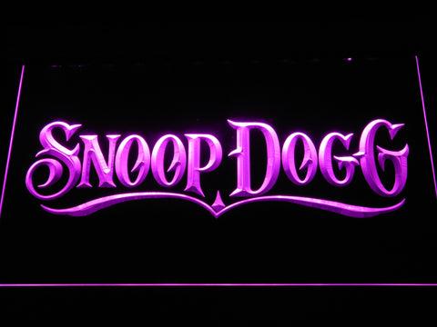 Snoop Dogg LED Neon Sign - Purple - SafeSpecial