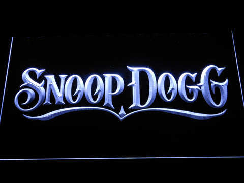 Snoop Dogg LED Neon Sign - White - SafeSpecial