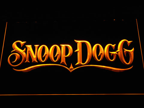Snoop Dogg LED Neon Sign - Yellow - SafeSpecial