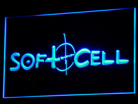 Soft Cell LED Neon Sign - Blue - SafeSpecial