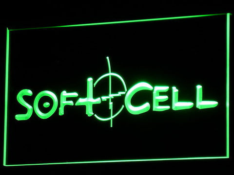 Soft Cell LED Neon Sign - Green - SafeSpecial