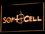 Soft Cell LED Neon Sign - Orange - SafeSpecial