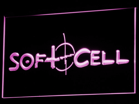 Soft Cell LED Neon Sign - Purple - SafeSpecial