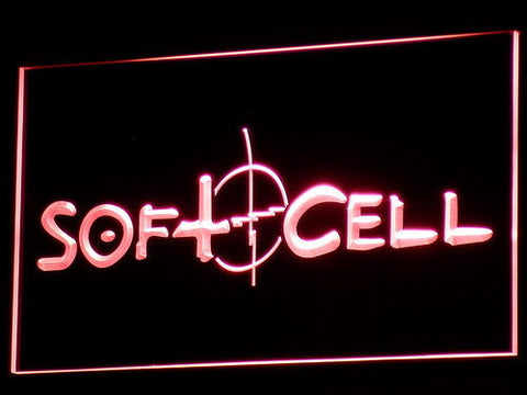 Soft Cell LED Neon Sign - Red - SafeSpecial