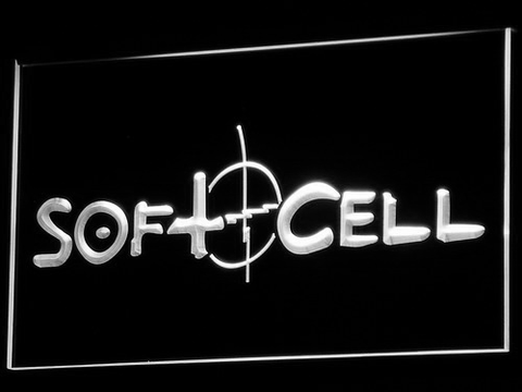 Soft Cell LED Neon Sign - White - SafeSpecial
