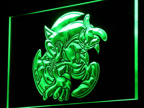 Sonic The Hedgehog Led Neon Sign Safespecial