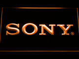 Sony LED Neon Sign - Orange - SafeSpecial