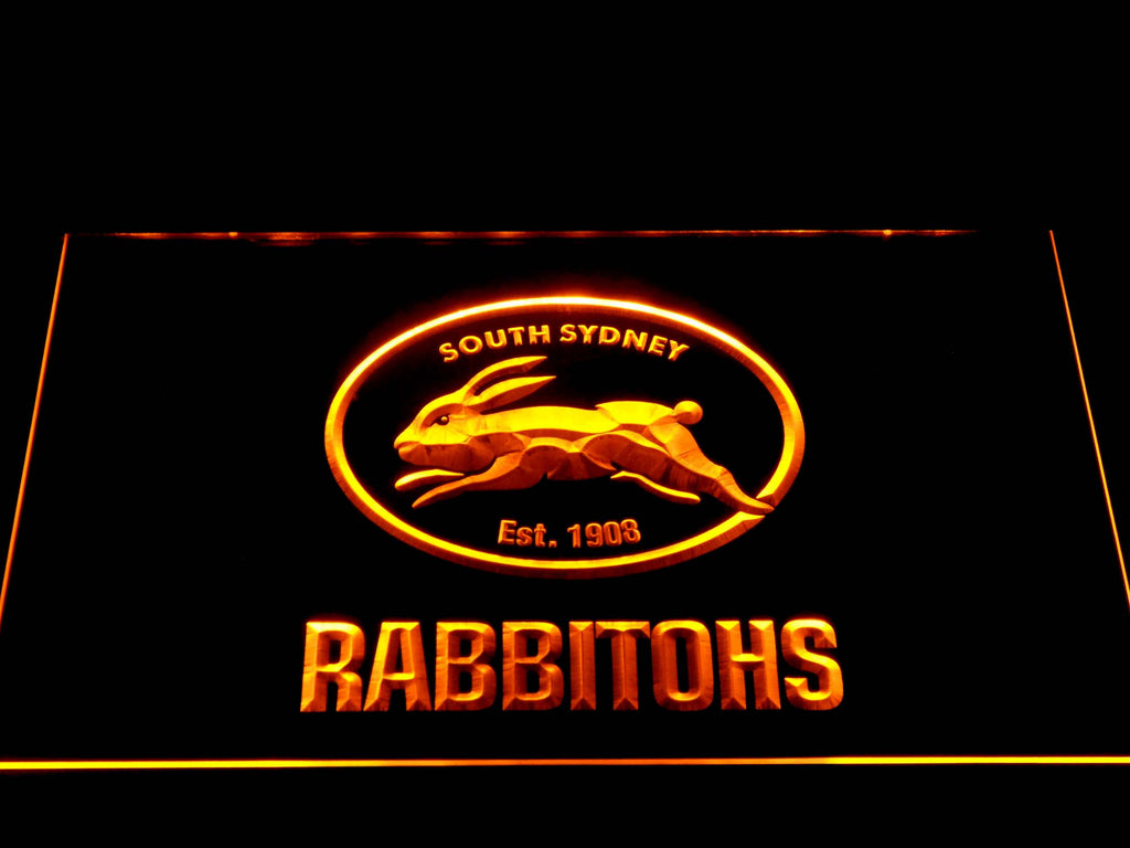 South Sydney Rabbitohs Led Neon Sign Safespecial