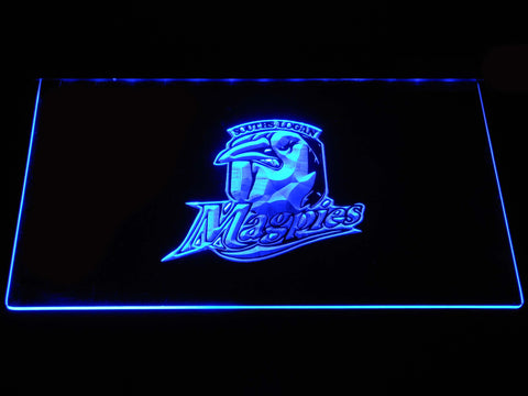 Souths Logan Magpies LED Neon Sign - Blue - SafeSpecial