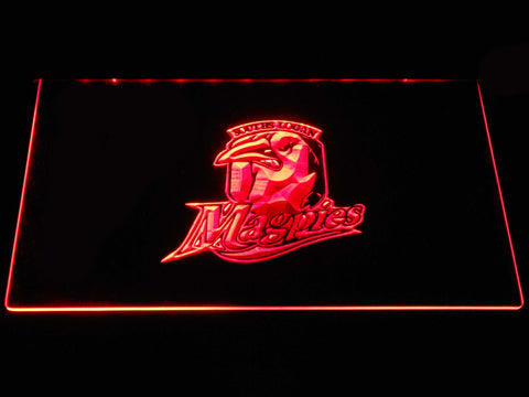 Souths Logan Magpies LED Neon Sign - Red - SafeSpecial