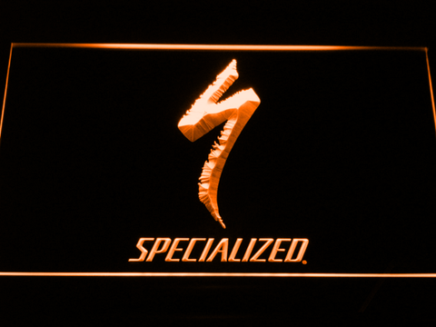 Image of Specialized LED Neon Sign - Orange - SafeSpecial
