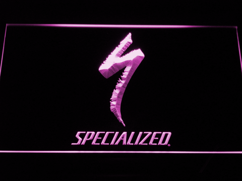 Image of Specialized LED Neon Sign - Purple - SafeSpecial