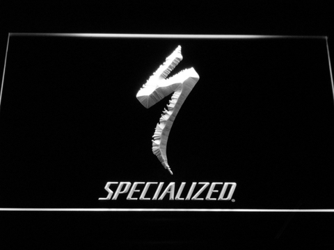 Image of Specialized LED Neon Sign - White - SafeSpecial