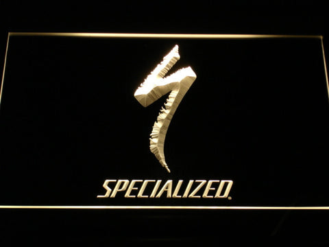 Image of Specialized LED Neon Sign - Yellow - SafeSpecial