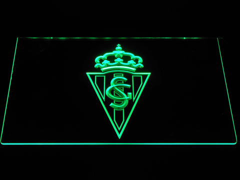 Image of Sporting de Gijon LED Neon Sign - Green - SafeSpecial