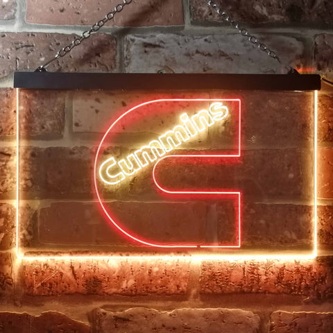 Image of Cummins Neon-Like LED Sign - Dual Color