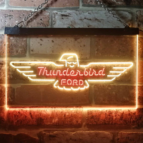 Image of Ford Thunderbird Neon-Like LED Sign - Dual Color