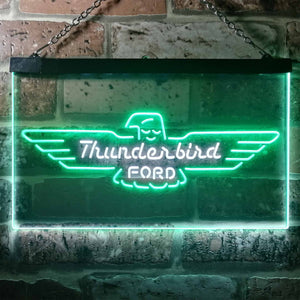 Ford Thunderbird Neon-Like LED Sign - Dual Color