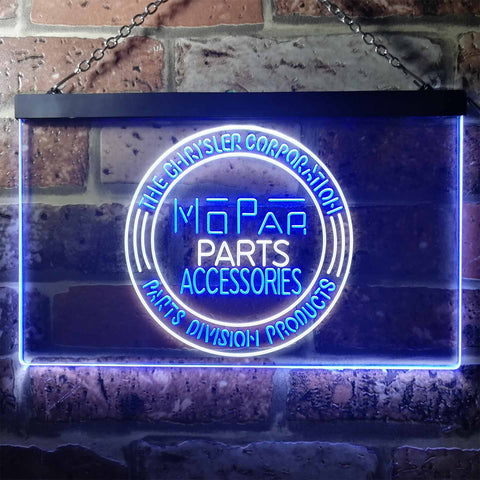 Image of Mopar Parts Accessories Neon-Like LED Sign - Dual Color