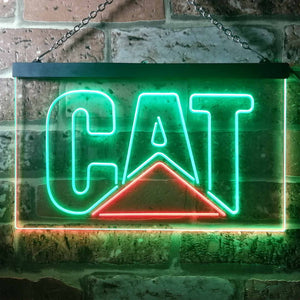 Caterpillar Neon-Like LED Sign - Dual Color