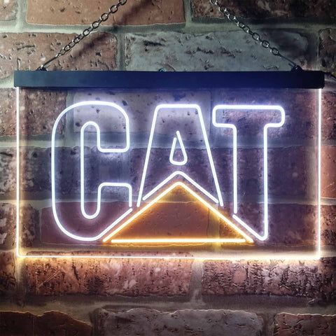 Image of Caterpillar Neon-Like LED Sign - Dual Color