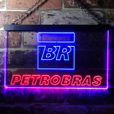 Image of Petrobras BR Neon-Like LED Sign - Dual Color