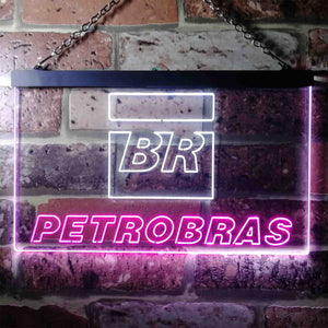 Petrobras BR Neon-Like LED Sign - Dual Color
