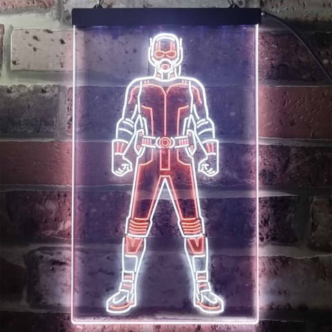 Ant Man Neon-Like LED Sign - Dual Color