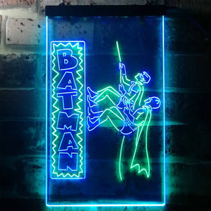 Batman and Robin Neon-Like LED Sign - Dual Color