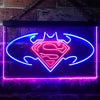 Batman v Superman Dawn of Justice Neon-Like LED Sign - Dual Color