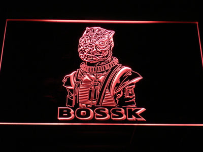 Star Wars Bossk LED Neon Sign - Red - SafeSpecial