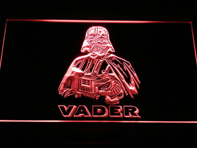 Star Wars Darth Vader LED Neon Sign - Red - SafeSpecial