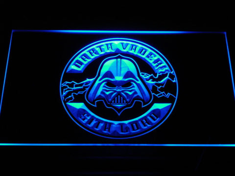 Image of Star Wars Darth Vader Sith Lord LED Neon Sign - Blue - SafeSpecial