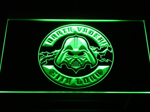 Image of Star Wars Darth Vader Sith Lord LED Neon Sign - Green - SafeSpecial