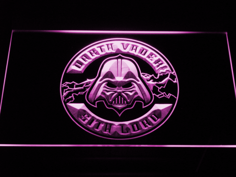 Image of Star Wars Darth Vader Sith Lord LED Neon Sign - Purple - SafeSpecial