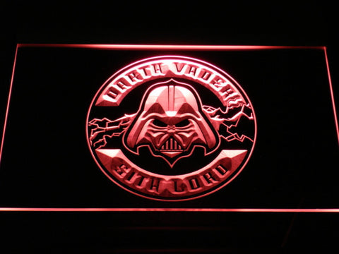 Image of Star Wars Darth Vader Sith Lord LED Neon Sign - Red - SafeSpecial