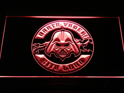Star Wars Darth Vader Sith Lord LED Neon Sign - Red - SafeSpecial