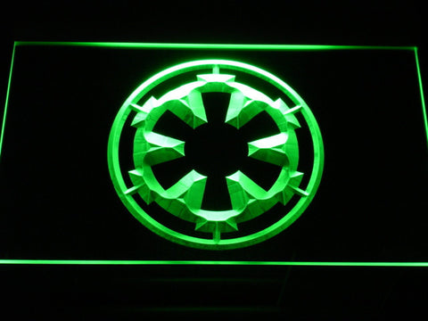 Image of Star Wars Galactic Empire LED Neon Sign - Green - SafeSpecial