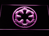 Star Wars Galactic Empire LED Neon Sign - Purple - SafeSpecial