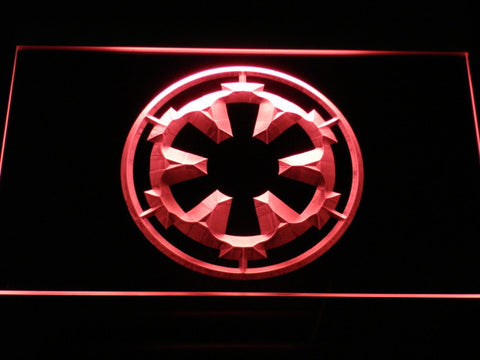 Image of Star Wars Galactic Empire LED Neon Sign - Red - SafeSpecial